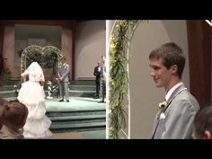 """My friend Arianna :) Sings Carrie Underwood's """"Look At Me"""" down the aisle, on her wedding day!"""