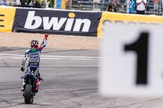 Winner... 2015 MotoGP Rd.4 Spain GP, Final. He is back, with pole to win.