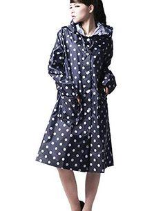 CRAVOG Regenmantel Regenjacke Raincoat Wasserdicht Jacken Mäntel - EUR 12.99 - 2.5 von 5 Sternen - mehr als 7 Bewertungen Rain Wear, Dresses For Work, Fashion, Best Rain Jacket, Water Resistant Jackets, Ladies Raincoats, Fall, Moda