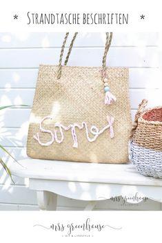 Diy Mode, Greenhouse Plans, Diy Schmuck, Diy Tutorial, Diy Fashion, Fashion Accessories, Reusable Tote Bags, Crafty, Blog