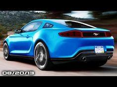 2015 Mustang, Acura NSX Concept GT, Bugatti Veyron Legends, New Mazda Ro...