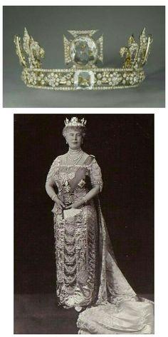 Queen Mary - Mary de Teck.Reina de el Reino Unido