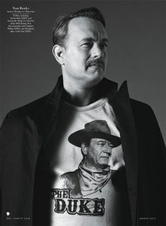 Photos: Golden Globe Nominees: See the Movie Stars Nominated in All Categories | Vanity Fair Tom Hanks, Captain Phillips. Photographed by Bruce Weber for the March 2013 issue. Styled by Jessica Diehl.