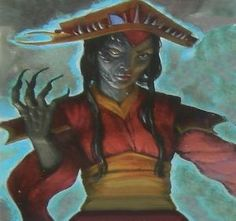 Doji Nashiko, the Demon Bride of Fu Leng