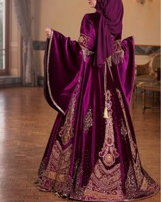 Muslim Wedding Dresses, Wedding Hijab, Bridesmaid Dresses, Hijab Style Dress, Kebaya Muslim, Hijab Bride, Medieval Dress, Mode Hijab, Embroidery Dress