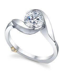 Lilac Engagement Ring - Mark Schneider Design. 1.2wonb