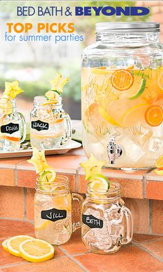 Your patio will be the life of every party this summer.