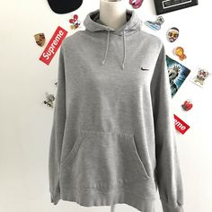Grey Nike Hoodie, Thrift Fashion, Clothes For Sale, Hypebeast, New Outfits, Thrifting, Flaws, Vintage Fashion, Explore