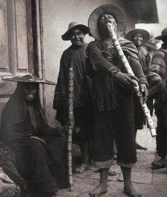 Musician, Cusco 1920 by Martin Chambi