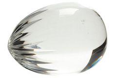 Baccarat Crystal Egg