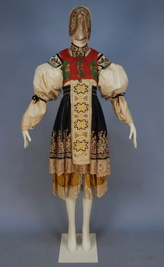 Ensemble 19th Century to Early 20th Century Moravia, Czech Republic Whitaker Auction House. LOOOOVE!!!!!