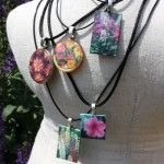 Cool plant tag pendants.
