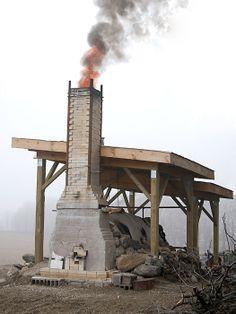 Cam Fisher's Anagama Kiln  |  Studio Potter located in Banff, Alberta, Canada.