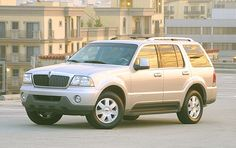 2005 Lincoln Aviator...my 7th car in champagne