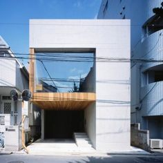 CZ-House by Tamizo Architects - Design Milk Japanese Architecture, Residential Architecture, Interior Architecture, Minimal Architecture, Tamizo Architects, House Tokyo, Town House, Exposed Concrete, Concrete Cost