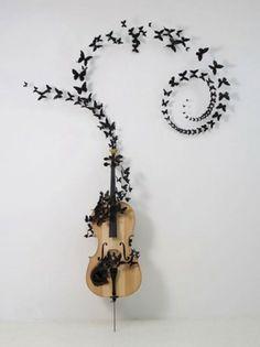 New Yorklu sanatçı Paul Villinski'den müzikle bütünleşen sanat