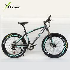 Original X-Front brand Snowmobile 21 Speeds 26 inch Tire disc brake MTB Mountain Bike Off-road gear reduction Beach Bike