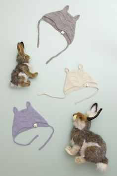 bunny hat by flora and henri