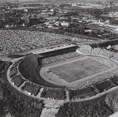Das Volksparkstadion, 1960 Hamburger Sv, Lower Saxony, Vintage Football, Geography, City Photo, The Past, Germany, Around The Worlds, Europe
