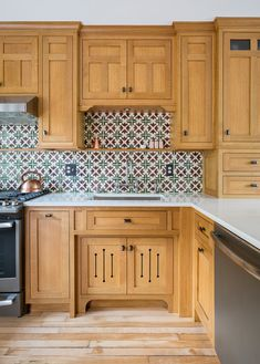 The Elements Of A Craftsman Kitchen images ideas from Kitchen Decoration Ideas Mission Style Kitchens, Craftsman Style Kitchens, Craftsman Bathroom, Bungalow Kitchen, Craftsman Interior, Home Decor Kitchen, Kitchen Interior, Kitchen Design, Kitchen Ideas