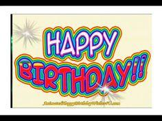 Funny Happy Birthday Greetings, Animated Happy Birthday Wishes, Birthday Greetings For Daughter, Happy Birthday Wishes For A Friend, Happy Birthday For Him, Happy Birthday Video, Birthday Wishes Quotes, Singing Happy Birthday, Happy Birthday Images