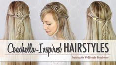 #Coachella inspired hairstyle #tutorial