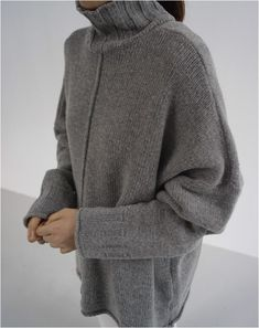 Ideas For Knitting Sweaters Inverno – Knitting Ideas Korean Outfits, New Outfits, Trendy Outfits, Linen Stitch, Winter Mode, Knitwear Fashion, Baby Knitting Patterns, Knitting Ideas, Sweater Weather