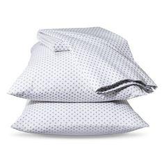 Xhilaration® Dot Sheet Set - White/Gray at Target Pirate Nursery, Pirate Bedroom, Rose Bedroom, Girls Bedroom, Bedroom Ideas, Bedrooms, Big Girl Rooms, Boy Room, Kids Room