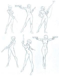 Rezultat iskanja slik za warrior pose with dual katanas drawing