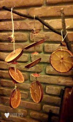♡Decori naturali per la casa in inverno