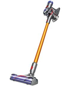 Do a quick clean-up or through vacuuming with cordless freedom with Dyson's V8 Absolute. Designed to provide up to 40 minutes of cleaning time, it easily converts to a hand-held for small jobs or tigh