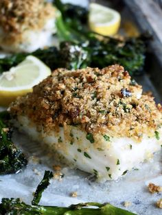 Ovnsbakt torsk Fish Recipes, Seafood Recipes, Health And Wellbeing, Fish And Seafood, Food And Drink, Cheese, Dinner, Breakfast, Desserts