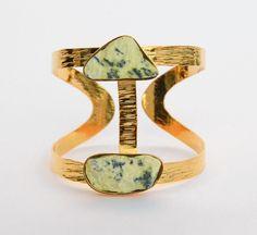 Brazalete Serpentina  Bangle, Semiprecious stones, Bracelete, Amarati