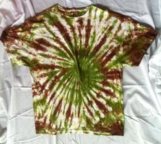 Tie Dye Spiral Shirt Camo by ToDyeForCT on Etsy, $15.00