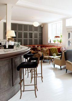 bourne & hollingsworth buildings restaurant in london | via coco kelley