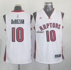 NBA Jerseys Toronto Raptors  10 derozan white Jerseys d5364eaf9