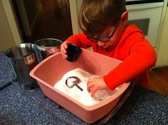 Salt Sensory Bin -  Pinned by @PediaStaff – Please Visit http://ht.ly/63sNt for all our pediatric therapy pins