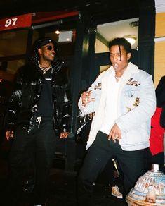 skepta x rocky Lord Pretty Flacko, A$ap Rocky, American Rappers, Daily Look, Pretty Boys, Winter Fashion, Fashion Men, Street Fashion, Fashion Ideas