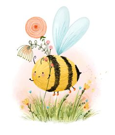 Bee in Boots! Lucy Fleming Illustrations www.lucyflemingillustrations.com