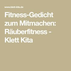 Fitness-Gedicht zum Mitmachen: Räuberfitness - Klett Kita Kidsroom, Sports, Blog, Fitness Workouts, Organisation, Kids Sports, Pirate Nursery, Physical Education Lessons, Day Care