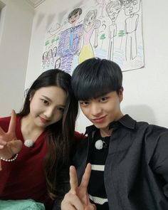 Joy and Sungjae were one of the best couples to ever appear on We Got Married. Wgm Couples, Kpop Couples, Cute Couples, Yook Sungjae Cute, Sungjae And Joy, Jung So Min, Seulgi, Laughter Quotes, We Get Married