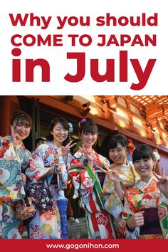 Why you should come to Japan in July - Go! Japan Guide, Japan Travel Guide, Beautiful Places In Japan, Japan Summer, The Sun Also Rises, Summer Festivals, Japan Japan, Japan Trip, Summer Bucket Lists
