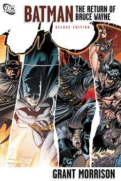 'Batman: The Return of Bruce Wayne' by Grant Morrison ---- Grant Morrison's best-selling multi-part Batman epic continues with Bruce Wayne's return to Gotham city.A time-spanning graphic novel . Grant Morrison, Dc Comics, Batman Comics, Steve Mcniven, Comic Book Covers, Comic Books, Final Crisis, Cultura Nerd, Monsters