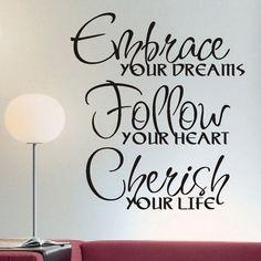 Embrace, Follow, Cherish