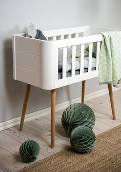 Girl Room, Baby Room, Wood Bassinet, Baby Changing Station, Baby Furniture, Baby Design, Kid Beds, Decoration, Room Interior