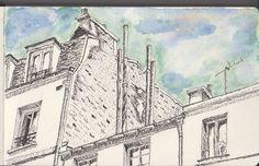 Urban sketching: Paris