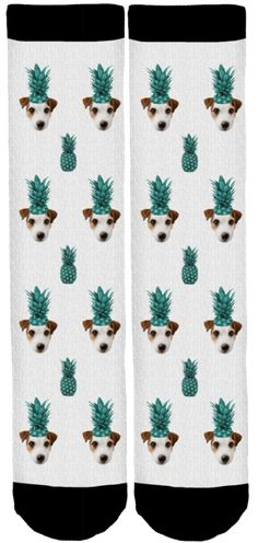 Yoda Pineapple Crew Socks
