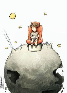 The Little Prince  Cartoon by Antonio Rodriguez Garcia , Mexico