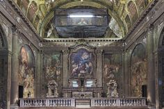 """The church of San Paolo Converso was converted into anoffice for CLS Architects<a href=""""http://thespaces.com/2015/04/22/born-again-cls-architects-turn-a-church-into-their-milan-hq/"""" target=""""_blank""""></a>"""