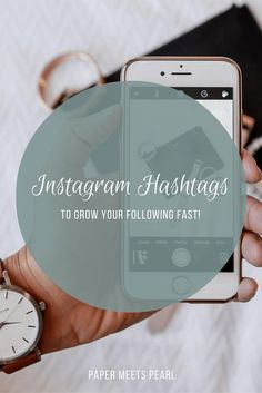 Are you struggling to grow your Instagram following? Today we're talking all things hashtags and how to grow your following fast!